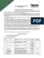 MUNICÍPIO DA ESTÂNCIA BALNEÁRIA DE PRAIA GRANDE EDITAL DE ABERTURA DE CONCURSO PÚBLICO - Nº 005/2015