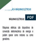 Aula 01 Introdução à Máquinas Elétricas