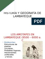 Historia y Geografia Lambayecana