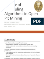 Review of Scheduling Algorithms