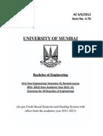 Second Semester B.E. Syllabus