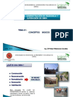 Modulo i Adminsitración en Residencia, Supervisión y Seguridad en Obra