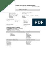 Clasificación de Los Antimicrobianos
