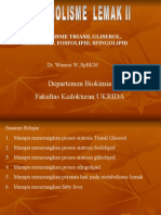 Metabolisme Fosfolipid & Glikolipid