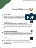 evolucion del processo administrativo 1