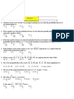 SRMJEEE Sample Paper 6 (Model Paper Maths 1)