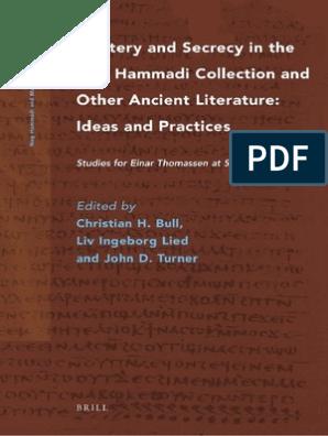 Nag Hammadi And Manichaean Studies 76 Ideas And Practices Studies For Einar Thomassen At Sixty 2011 Pdf
