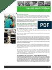 Ventilprovning on Line Safety Valve Test