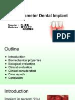 1040521 康磊 Narrow Diameter Dental Implants