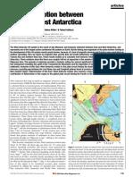 Motion Between East and West Antarctica