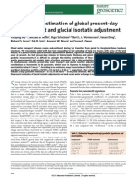 Simultaneous Estimation of Global Present-day Water Transport and Glacial Isostatic Adjustment