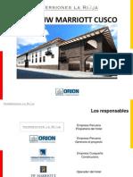 Presentación Inversiones La Rioja - Hotel JW Marriott Cusco