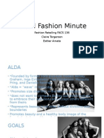retail fashion minute e port