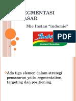 Segmentasi Pasar Indomie