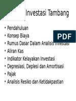 Sap MK Investasi Tambang