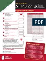 Test Riesgo Diabetes 2