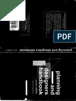 Planning and Designers Handbook