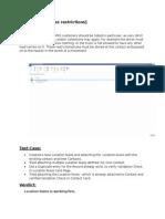 Functionality Testing Protocol