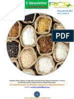 6th November,2015 Daily Global,Regional & Local Rice E-Newsletter by Riceplus Magazine