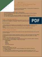unit3 aos 2 assessment task