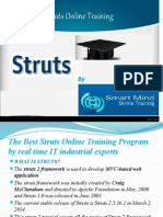 The Best Struts Online training by real time IT industrial experts