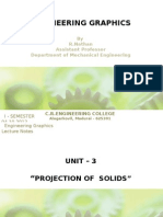 Projection of Solids