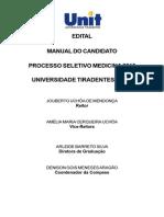 Edital Manual Unit Medicina -2016