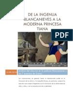 De La Ingenua Blancanieves a La Moderna Princesa Tiana - Blanc Ani Eves