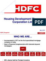 HDFC Profile of Company