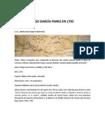 Plano de Diego García Panes en 1793