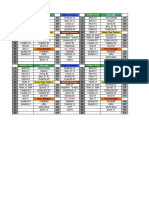 Game Play Calling Sheets 2
