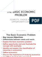 The Basic Economic Problem