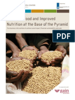 Access to Food and Improved Nutrition at the Base of the Pyramid