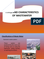 Lecture 13. Types Nd Characterization of Wastewater1