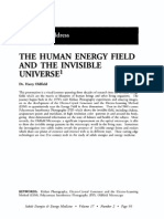 The Human Energy Field an the Invisible Universe