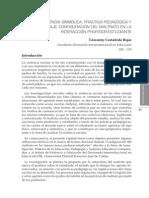 Violencia Simbolica Practica Pedagogica y Lenguaje Configuracion Del Maltrato en Interaccion