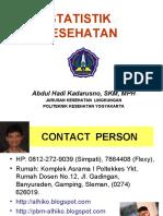 Statistik Kesehatan- Slide Prolog Alhiko