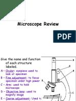 7th Grade Microscope Exam Review