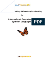 Formatting Different Types of Writing