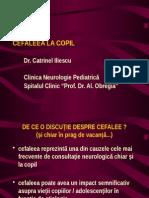 CEFALEEA LA COPIL - Studenti, Revazut