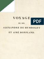 Essai Sur La Géographie Des Plantes - Humboldt & Bonpland 1805