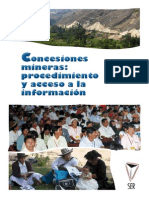 Diagnostico Concesiones Mineras - SER