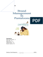 pantaloons brand management