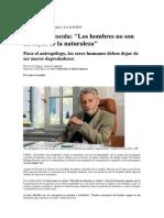 Entrevista Descola