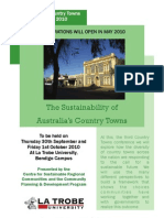 Sustainable Country Towns Flyer