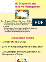Holistic Diagnosis & Comprehensive Management