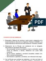 3. Constitución de Empresas