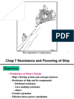 Propulsion and Resistance