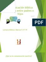 Comunicación Bíblica Asertiva Entre Padres e Hijos