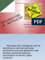 Declansatori ai motivatiei